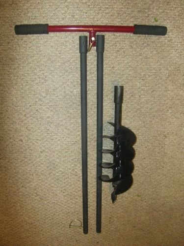 Amazon Soil Ice Hand Drill Post Hole Digger 6 Auger 8