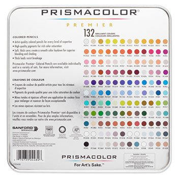 Drawing & Sketching Pencils, 0.7 Mm, 132 Assorted Colors/Set, One random color will be shipped by Sanford