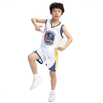 PAOFU-Camisetas de Baloncesto para Niños y Niñas NBA Golden State ...