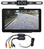"""ANLENG 7"""" 4GB ROM Car GPS Navigation and Waterproof Wireless Rear View Camera Bluetooth AV-in Free America New Maps"""
