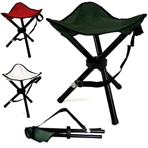 Portable Tripod Camping Hiking Fishing Festival Folding