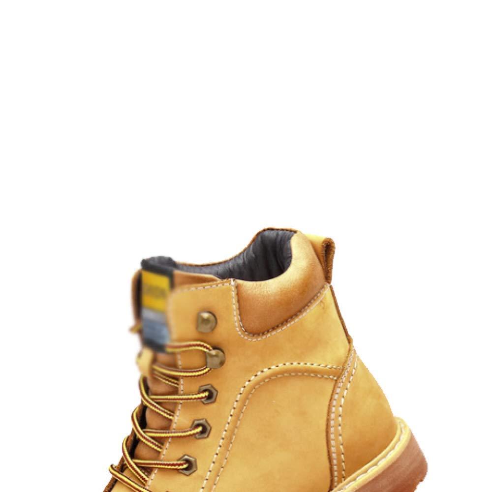 DHFUD, Bequem, Stiefel, Martin Stiefel, Lederstiefel, Bequem, DHFUD, Britisch, Atmungsaktiv Yellow c824d1
