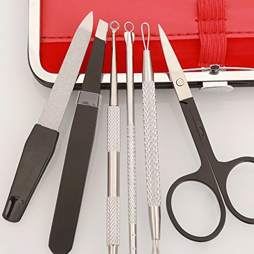 Blackhead Remover Pimple Comedone Extractor Tool Manicure set