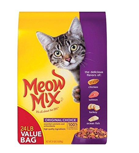 Meow Mix Original, Extra large, 24-Pound Bag