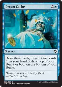 - Magic: The Gathering - Dream Cache - Commander 2018