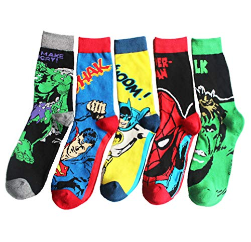 Mens Funny Dress Socks Wedding Groomsmen's Socks 10-13,Multicolor for $<!--$24.99-->