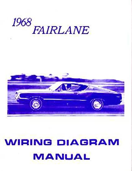 image unavailable  image not available for  color: bishko automotive  literature 1968 ford fairlane electrical wiring diagrams