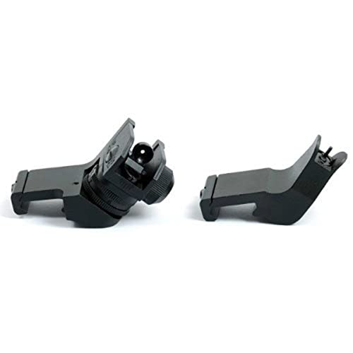 Ade Advanced Optics Front/Rear 45-Degree Rapid Transition BUIS Backup Iron Sight