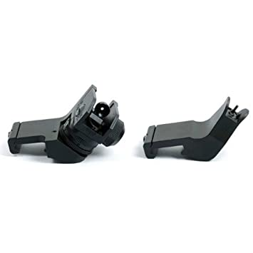 Ade Advanced Optics AR 15 Front/Rear 45-Degree Rapid Transition BUIS