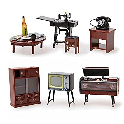 Amazon Com Odoria 1 24 Vintage Japanese Furniture Dollhouse