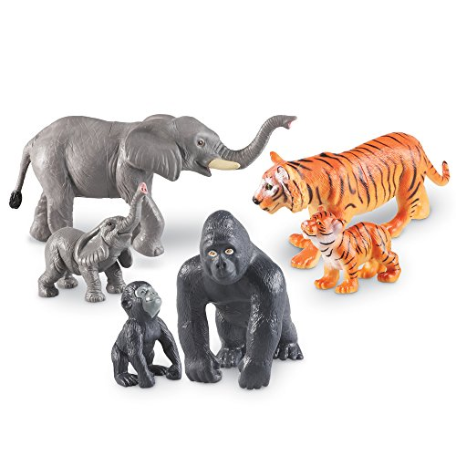 Learning Resources Mommas and Babies Jumbo Jungle Animals
