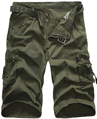 96c6458950 We Analyzed 5,310 Reviews To Find THE BEST Army Green Shorts Men