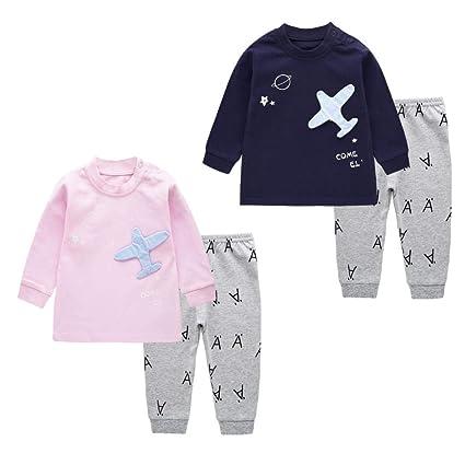 Vestiti Di Neonati Vestiti Bambina Neonato Vestiti Bambina Pantaloni  Bambino Abbigliamento Bambini Ragazzi Ragazze Pigiama Set e5b81aea4d3