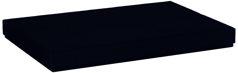 Rössler Papier Boxle 1352453700 - Porta documenti formato A4, colore: nero