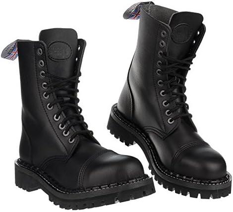 Vegan Combat/Military 10 Holes Boots