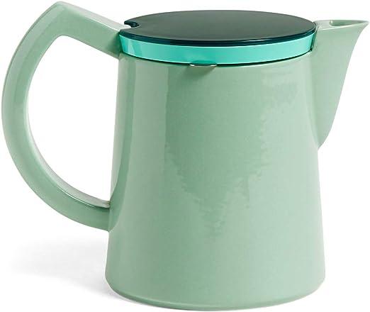 Heno - Cafetera mediana (500 ml), color verde menta: Amazon.es: Hogar