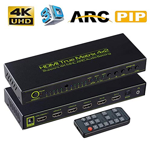 ZAMO 4K HDMI Splitter Switch