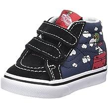 Vans Toddler Sk8-Mid Reissue V (Checkerboard) Skate Shoe