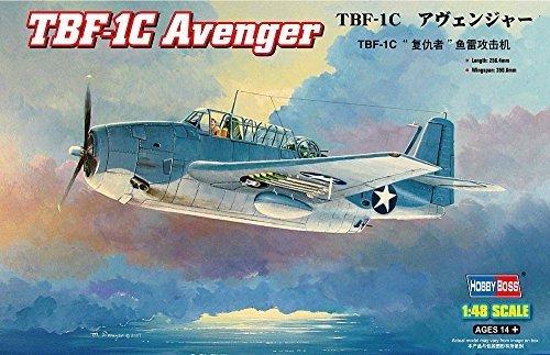 grandes precios de descuento Hobbyboss 0.075 Scale TBF-1C Avenger Assembly Kit by by by Hobbyboss  tienda de venta en línea