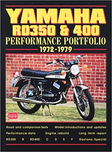 Buy Yamaha RD350 & 400: Performance Portfolio 1972-1979 Book