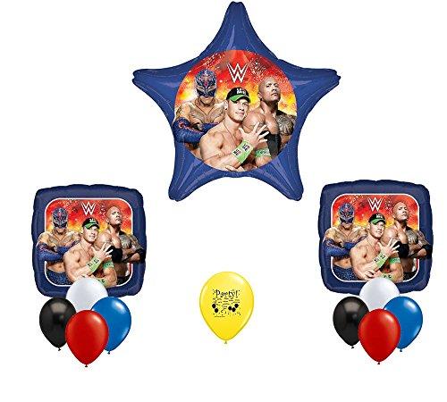 Wrestling Party Supplies 12 Piece Balloon Bouquet