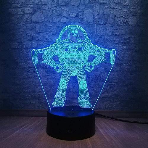 Luz de la noche Hermosas y exquisitas luces nocturnas 3D coloridas, luces nocturnas LED coloridas, zumbido lindo de la…