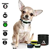 Our K9 Training Made Easy Mint Small Dog Bark Collar. Pain Free Vibration Bark Control Collar for Very Small - Small Dogs