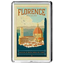 B612 FLORENCE FRIDGE MAGNET ITALY VINTAGE TRAVEL PHOTO REFRIGERATOR MAGNET