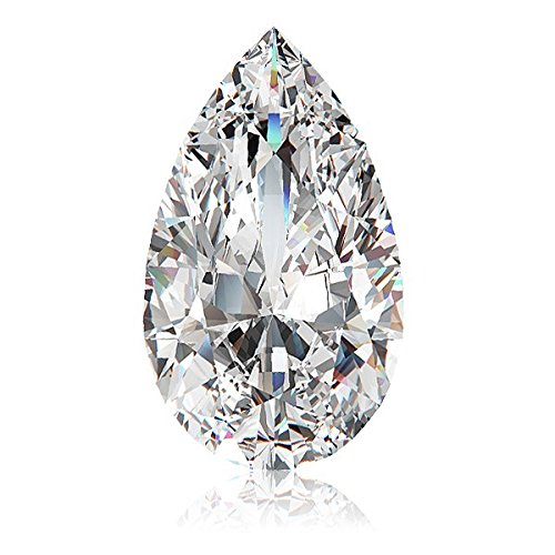 1.26 Ct Pear Diamond - 7
