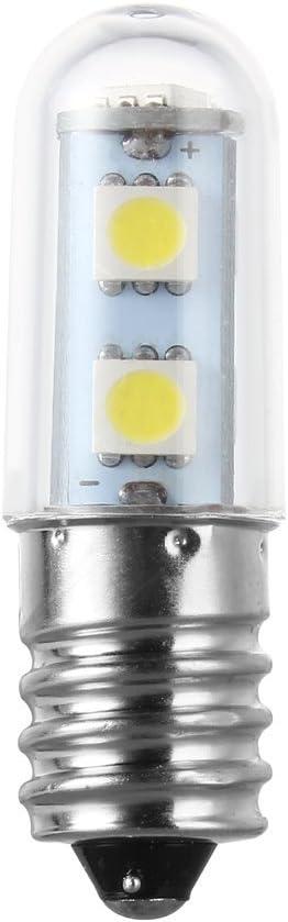 Rocita Luminación CA 220V E14 1W 7 LED 5050 SMD de la lámpara blanco puro/caliente Frigorífico Bombilla