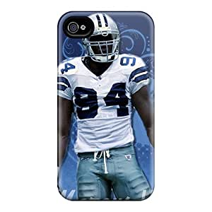 Ultra Slim Fit Hard MKmarket Case Cover Specially Made For Iphone 4/4s- Dallas Cowboys