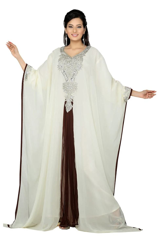 PalasFashion Plus Size Maxi Tunic / Kaftan Evening Gown Women's KKPF17184