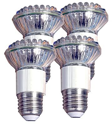Miracle LED 3W Penetrating Flood Replace 50W Rough Service LED Bulb, Low Profile General Service Light Bulb, 4-Pack (604885)