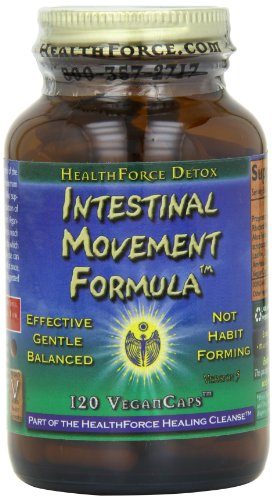 Healthforce Intestinal Movement Formula, Vegancaps, 120 Count