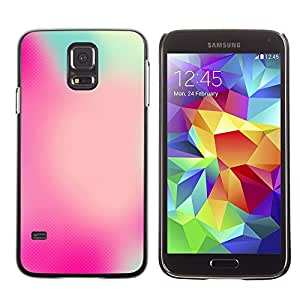 Plastic Shell Protective Case Cover || Samsung Galaxy S5 SM-G900 || Watercolor Focus Pink Blue @XPTECH