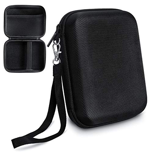 TyhoTech Borescope Camera Case for Depstech USB Endoscope, also for Goodan, Shekar, Pancellent, Fantronics, Maximum Length of 5M Cable with Pockets for Accessories like USB, Side View Mirror (Black)