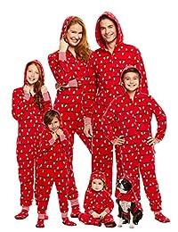 Family Holiday Merry Litmas Matching Pajamas | Mens Onesie Size S