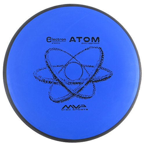 (MVP Disc Sports Electron Atom Putter Golf Disc [Colors may vary] - 150-159g)