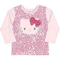 Blusa \Manga Longa em Cotton Light - Rosa - Hello Kitty