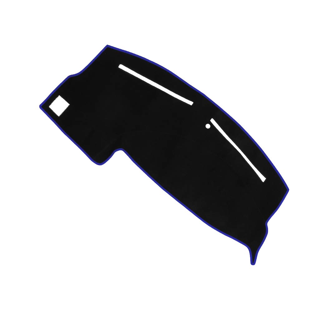 Black JIAKANUO Auto Car Dashboard Carpet Dash Board Cover Mat Fit for Dodge Charger 2011-2018