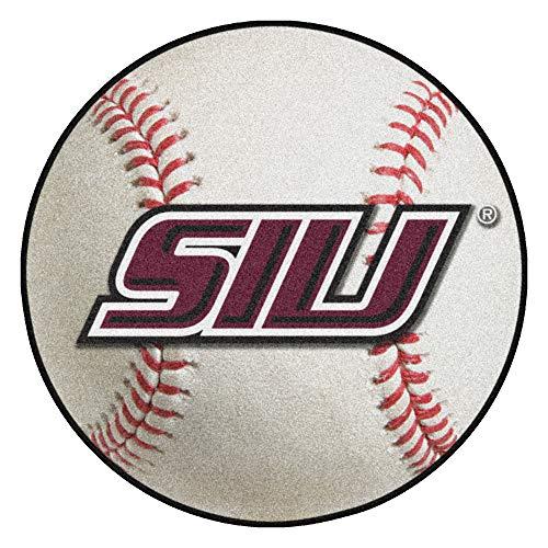 FANMATS NCAA Southern Illinois University Salukis Nylon Face Baseball Rug