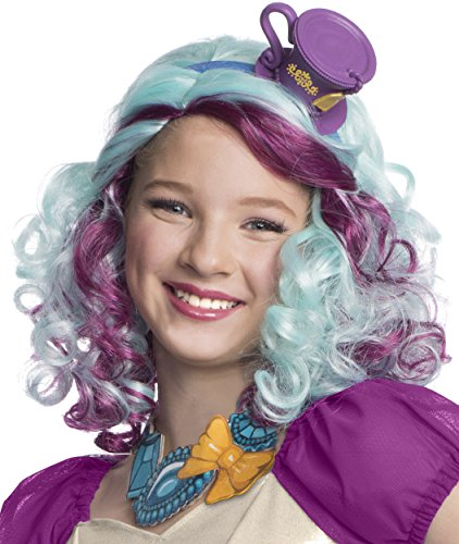 (Rubies Ever After High Child Madeline Hatter Wig with)