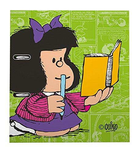 Grafoplas Mafalda - Archivador con palanca de 65 mm, A4, diseño 15 Libreta: Amazon.es: Oficina y papelería