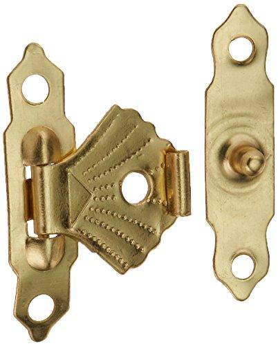 Metal Hasp Door (50 Pcs Metal Mini Flower Leaf Jewelry Case Box Lock Hasp Staple Set)