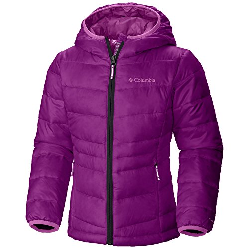 Columbia Girls' Gold Tdown Jacket (Large, Purple) by Columbia