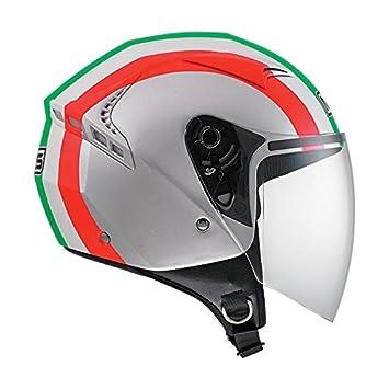 AGV Helmets Casco Jet G240 MDS E2205, color Plata (Eternum Argenté/Italy)