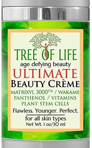 ToLB Ultimate Anti Aging Cream - Plant Stem Cells, Matrixyl, Astaxanthin, Vitamins C & E, Panthenol, Wakame Bioferment - Anti Wrinkle Anti Aging Crème 1 ounce