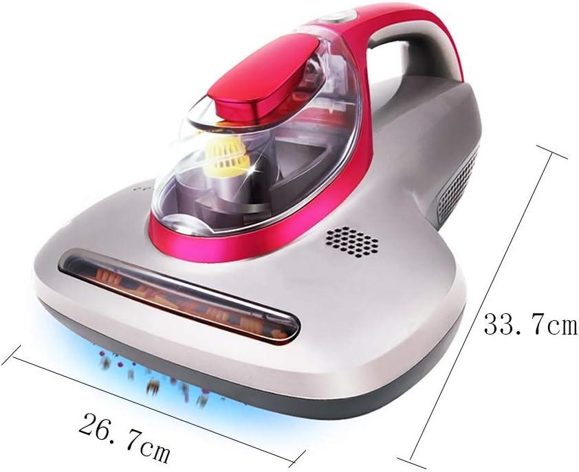 Además del esputo, Aspirador de Alfombra de Cama de succión esterilizador UV de Cama doméstica, Rojo Rosa (33.7x26.7x17.8cm) Xuan - Worth Having: Amazon.es: Hogar