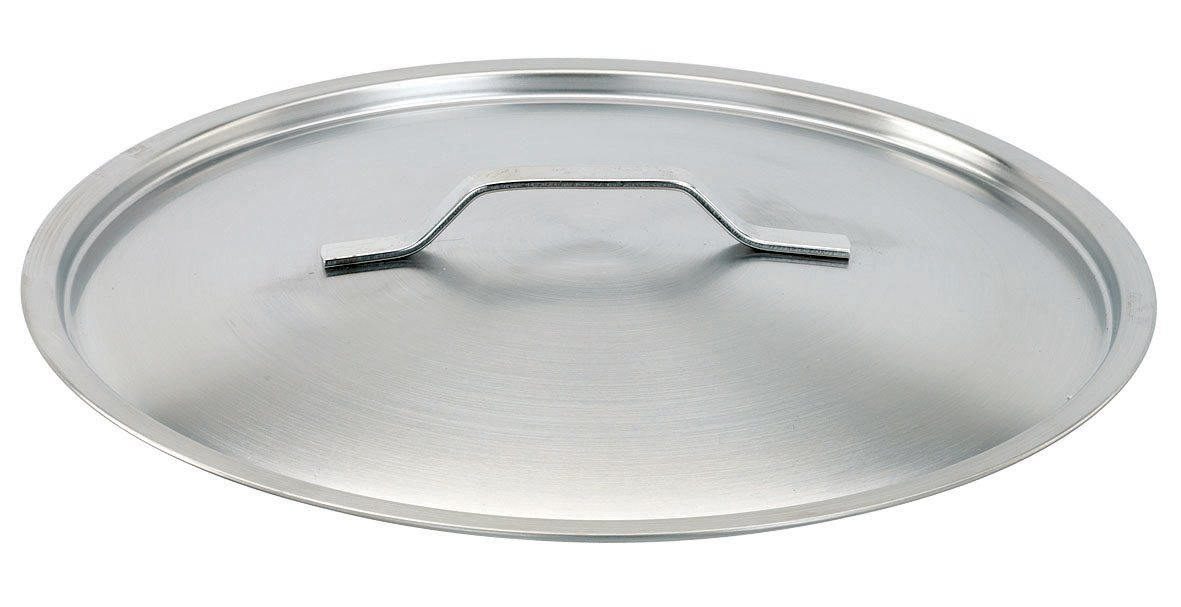 Paderno World Cuisine 23.625 Inch Stainless Steel Lid