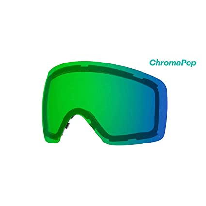 1d6bb4314980 Smith Optics Skyline Adult Replacement Lense Snow Goggles Accessories -  Chromapop Everyday Green Mirror One